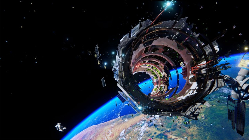 3840x2160 Adr1ft Wallpaper in Ultra HD, Space craft, Universe