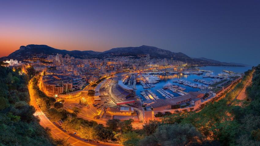 3840x2160 Monte Carlo Yachts Port Panorama 4K Ultra HD Desktop Wallpaper