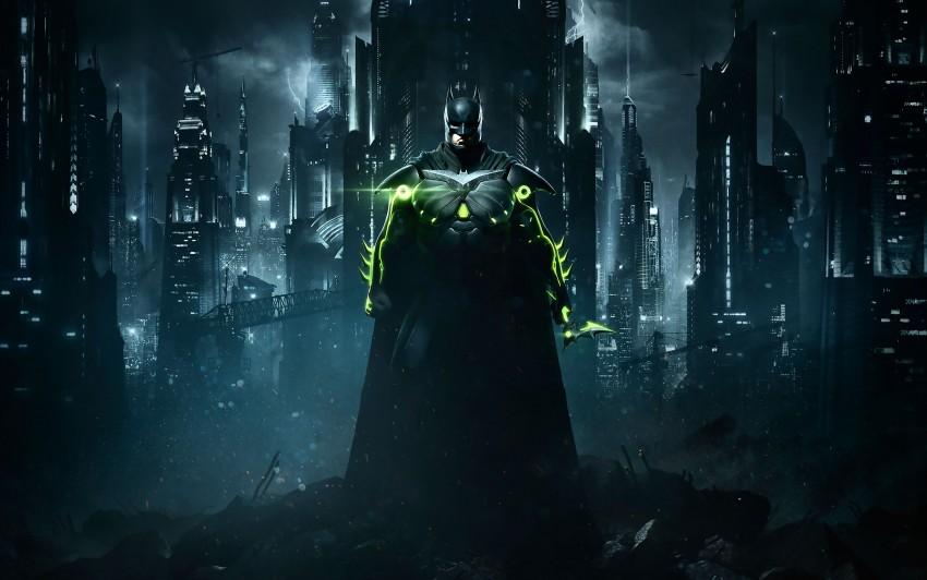 3840x2400 Injustice 2 Batman HD 4K Wallpaper, Batman, Injustice 2, Game, Gotham City