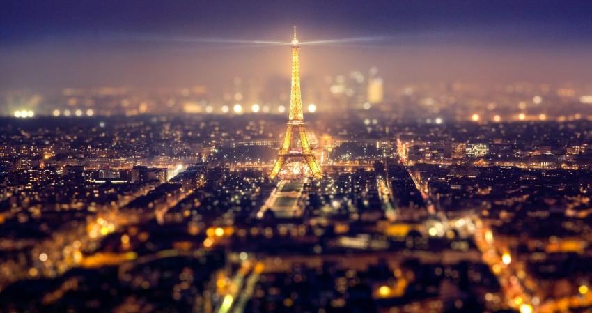 4096x2160  4k Ultra HD Wallpaper For Desktop, Paris, Eiffel Tower, City, lights, Night