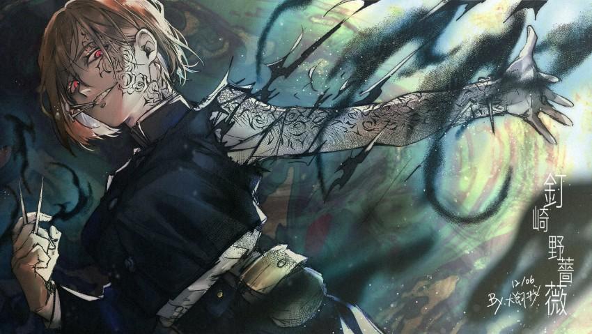 Anime, Art, Jujutsu Kaisen, Anime Girl, Nobara Kugisaki, HD Desktop Wallpaper