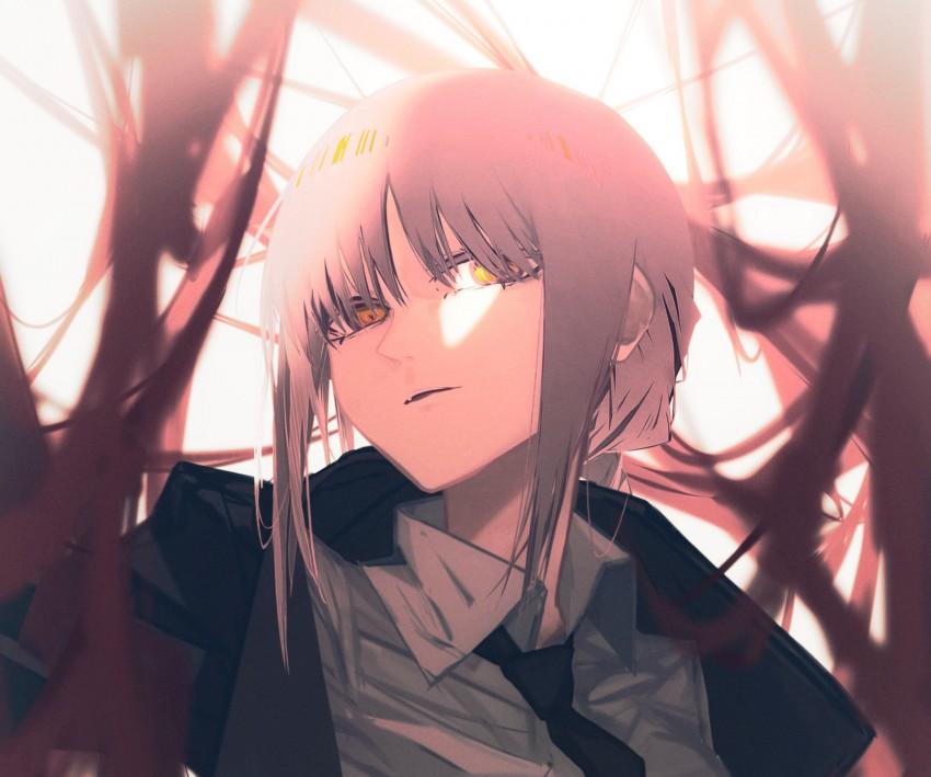 Anime, Chainsaw Man, Makima (Chainsaw Man), HD Wallpaper