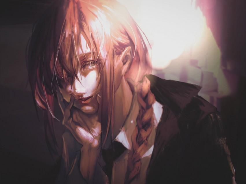 Anime, Chainsaw Man, Makima Digital Art, (Chainsaw Man), HD wallpaper