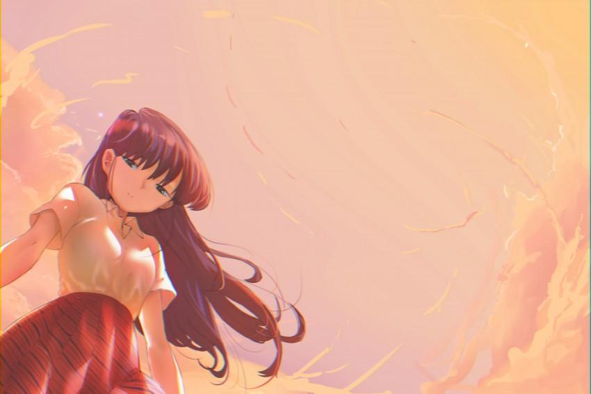 anime girls, anime, Komi Shouko, Komi san wa, Comyushou desu, Komi Shouko HD Wallpaper