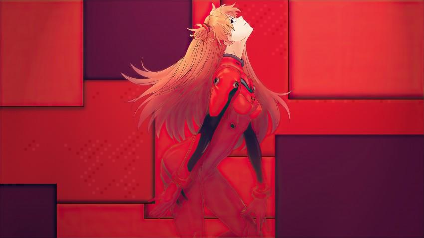 Asuka Langley Sohryu Neon Genesis Evangelion 4k