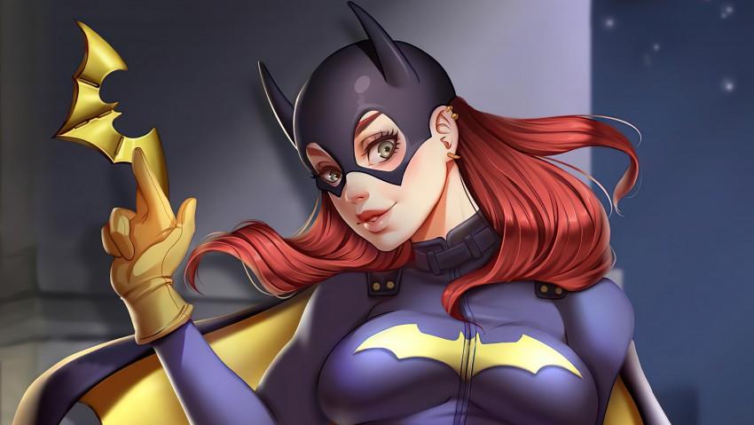 Batgir, superheroes, artwork, artist, Gotham knights game wallpaper, Gotham City, Dark City, Girls