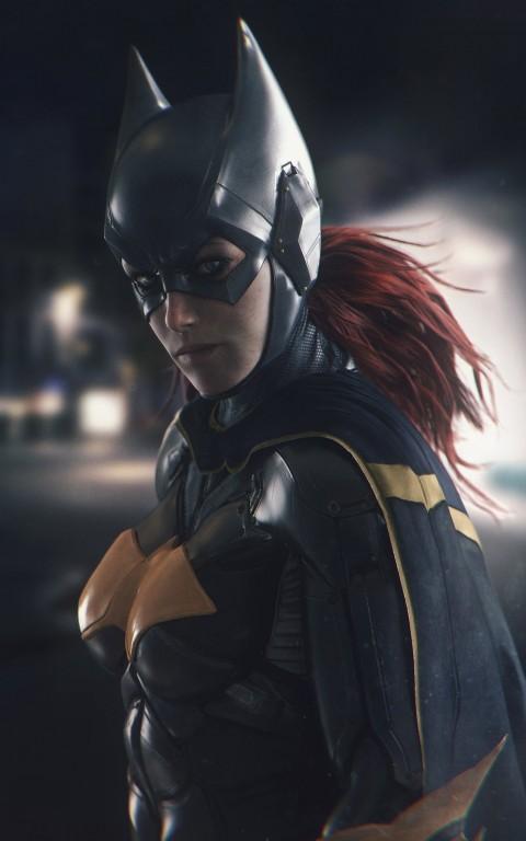Batgirl, DC Comics, artwork, portrait display, Batman, Batman   Arkham Knight