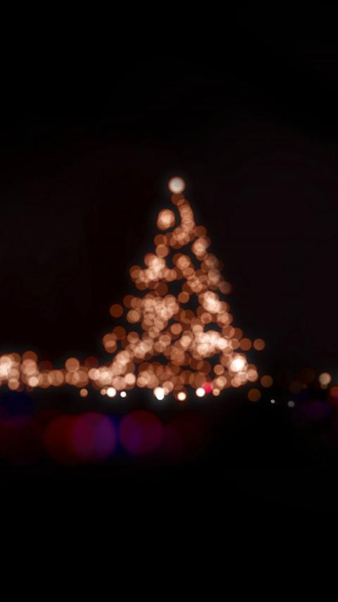 Christmas Aesthetic Wallpapers, Aesthetic Lights Wallpaper, Christmas Tree light