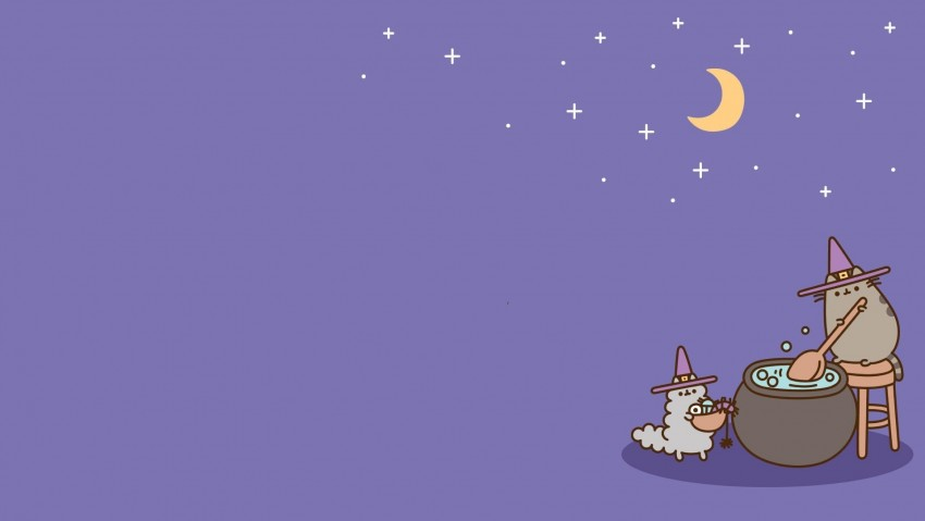 Cute Desktop Wallpapers I Quickly Edited From Pusheen phone wallpapers