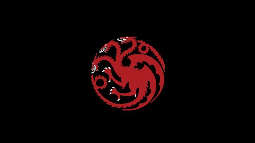 House of dragon illustration, Game of Thrones, House Targaryen, Daenerys Targaryen HD Wallpapers