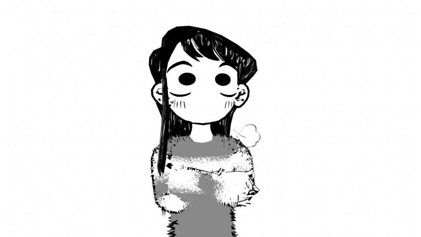 Kawai Komi san, anime, komi, shouko, manga, komi san, komyushou, girl, neko