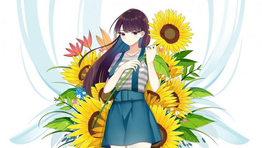 Komi-san, Anime, Komi Can't Communicate, Komi Shouko, HD Desktop wallpaper