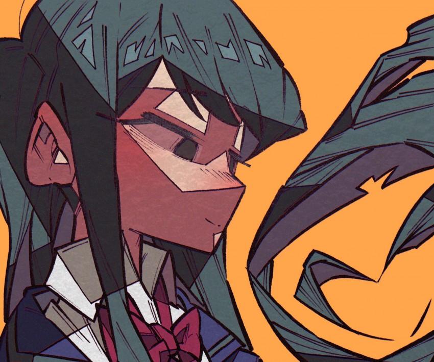Komi san, komi shouko, komi san wa komyushou desu, Black Hair, Anime, Komi Can't Communicate, Art