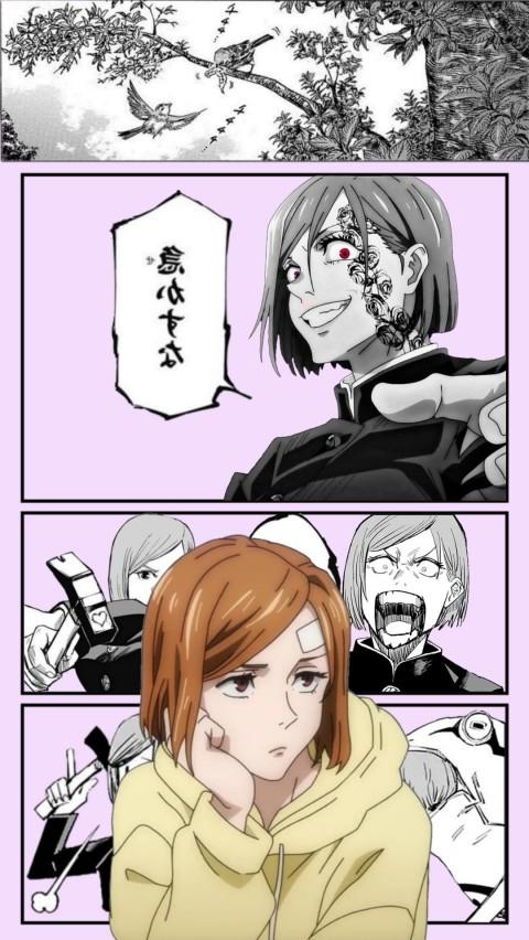 Kugisaki Nobara, jujutsu kaisen, manga, cute, anime, HD mobile wallpaper