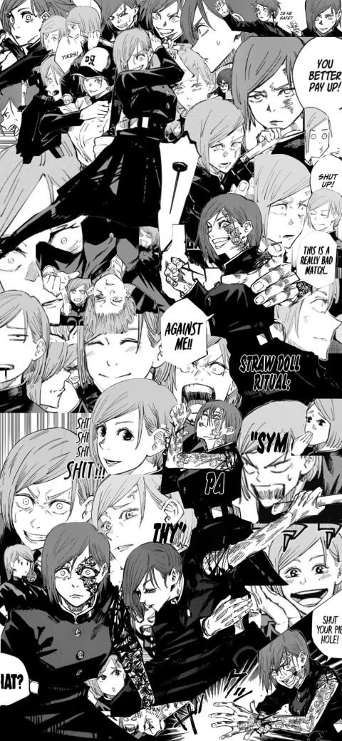 Kugisaki Nobara Manga Wallpaper, Jujutsu kaisen, manga, HD mobile wallpaper