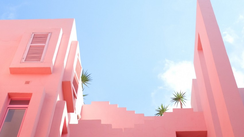 Minimalist aesthetic wallpaper desktop