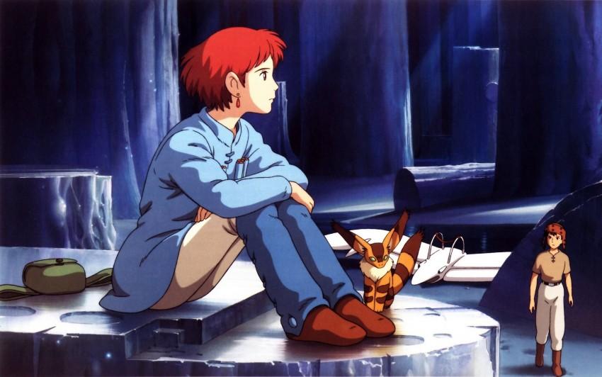 Nausicaa of the Valley of the Wind Studio Ghibli Anime Kaze no Tani no Naushika