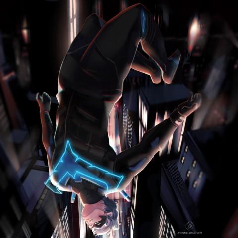 Nightwing, Gotham knights game wallpaper, Gotham City, Dark City