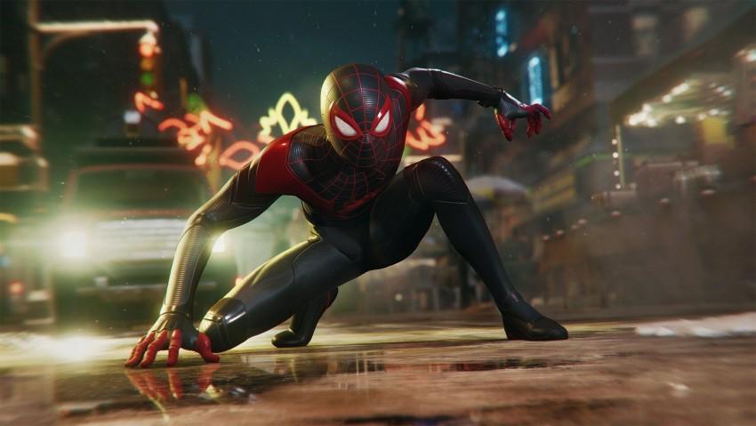 PS5's Spider Man Miles Morales, Spider Man 2 PS5 Wallpaper