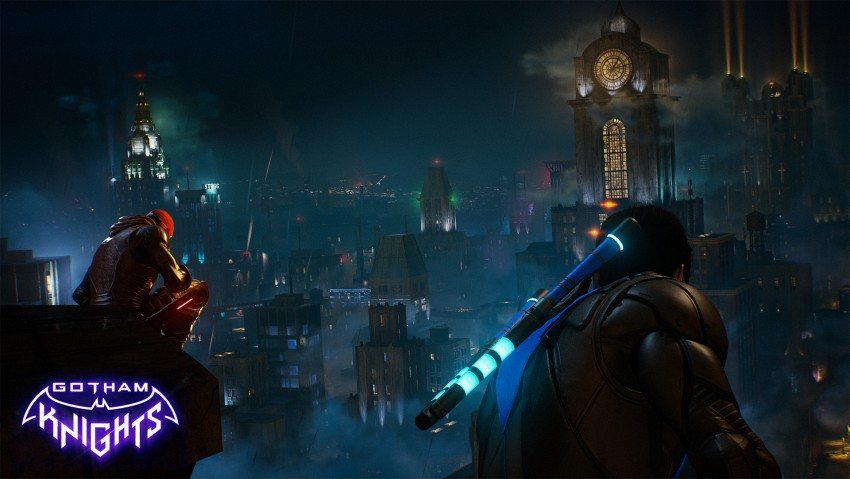 Red Hood, Nightwing, Gotham knights game wallpaper
