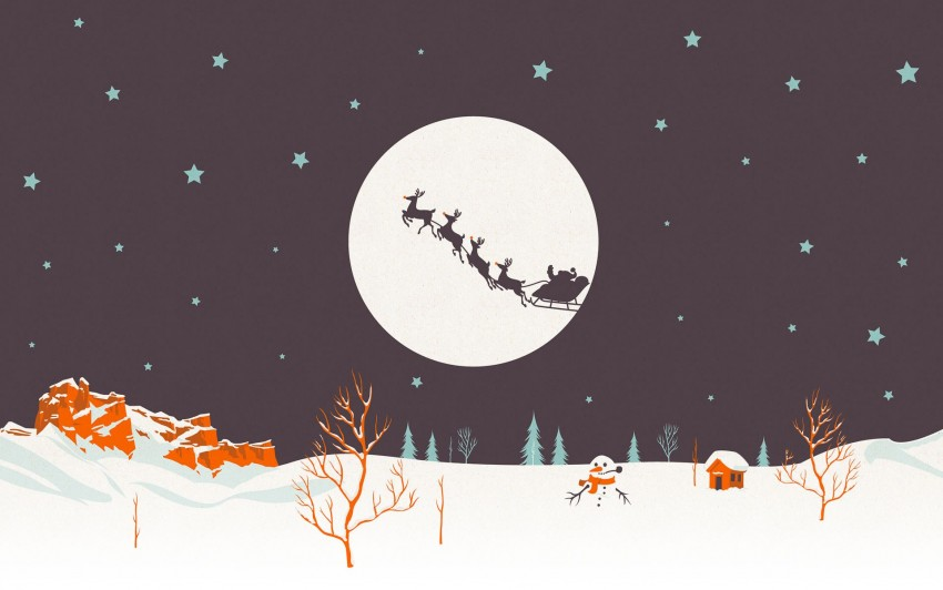 Simple Christmas Wallpaper, Cute christmas wallpaper picture
