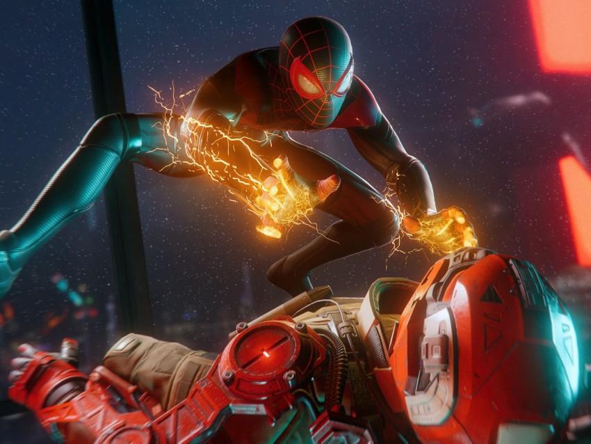 Spider Man 2 2023 4k, HD Games, 4k Wallpaper, Miles Morales