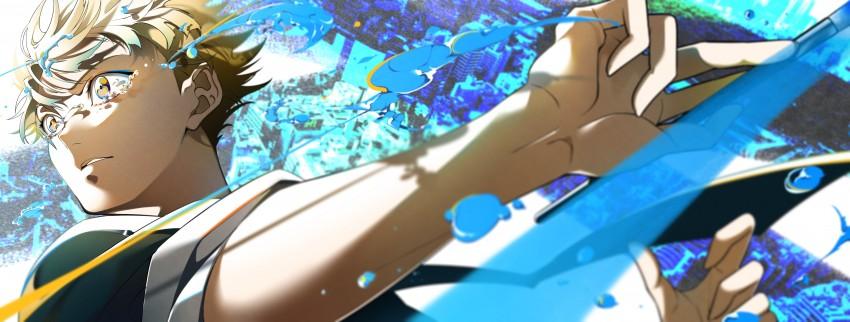 Yatora Yaguchi, Blue period Wallpaper, Digital Art, Anime Wallpaper