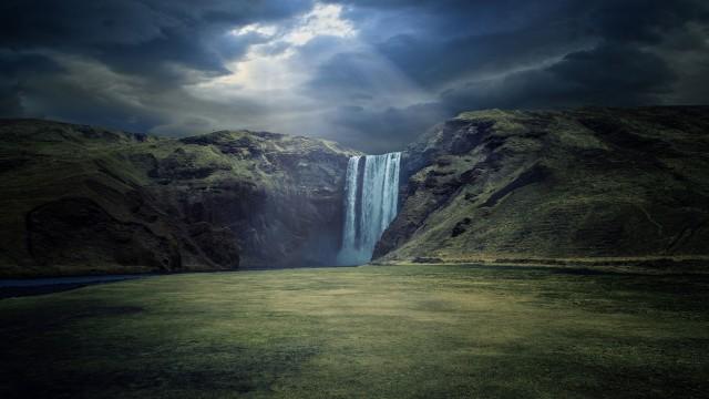 3840x2160 Waterfall Landscape 4K Ultra HD Wallpaper, 2K, 5K, 1080K, Desttop Wallpaper