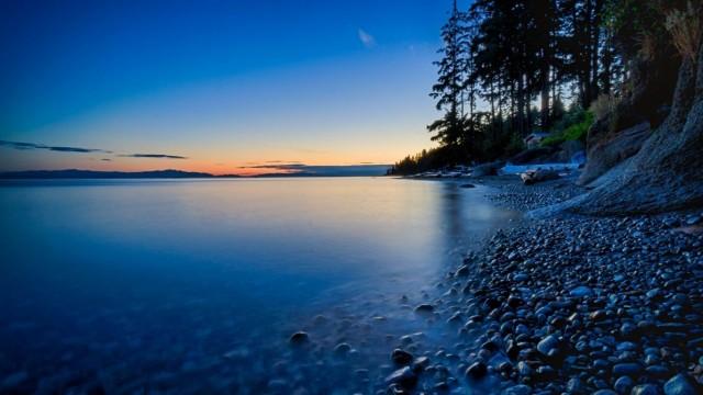 1366x768 4k Ultra HD Wallpaper  HD nature wallpaper, Nature desktop, Sunset, Rocks
