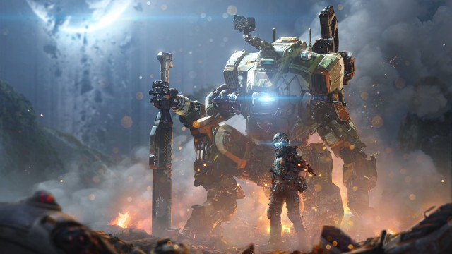 5486x3085 Titanfall 2 HD Wallpaper and Background Image, Robot, Cyber, Future, Video Game