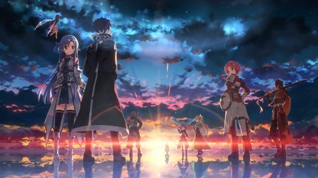 Sword art online 2, Anime 3840x2160