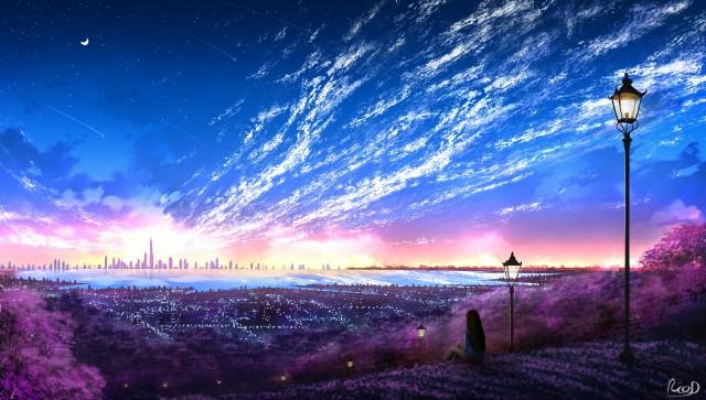 Anime, Original, Background, Colorful 4961x2813
