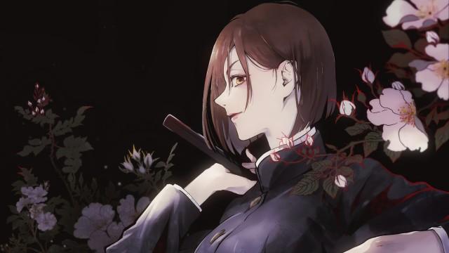 Kaisen Nobara Kugisaki Jujutsu Kaisen, Brown Eyes Brown Hair Girl Jujutsu, HD Desktop wallpaper