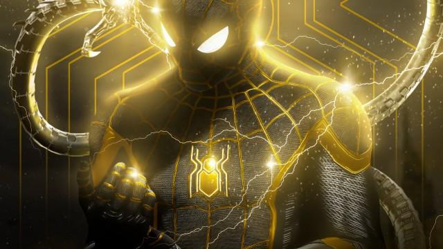 Spider-Man: No Way Home, Power Art, HD Desktop Wallpaper