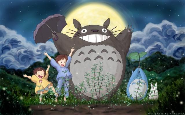 Totoro My Neighbor Totoro Studio Ghibli anime HD Desktop Wallpaper