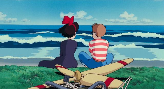 Kiki's Delivery Service Studio Ghibli, LoFi, Anime city Studio Ghibli Hayao Miyazaki Wallpaper