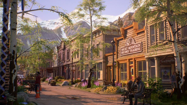 Life Is Strange: True Colors wallpaper, Art, Video Game, Game Town, View, Nature