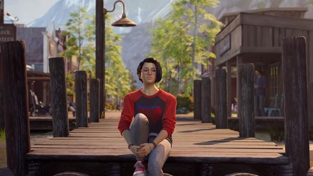 Alex Chen, Life Is Strange: True Colors wallpaper, Art, Artwork, Lake Dock, Video Game, Game