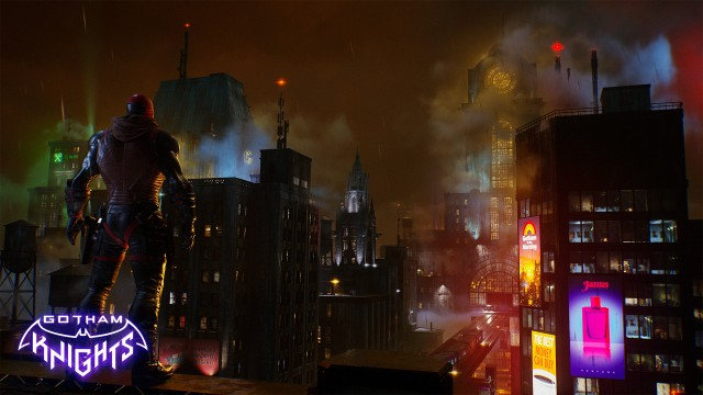 Red Hood, Gotham knights game wallpaper, Gotham City, Dark City