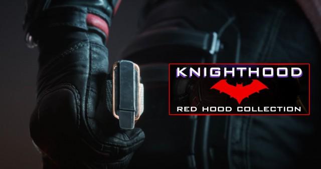 Knighthood, Red Hood Collection, Gotham knights game wallpaper, Deadpool, Gotham City, Dark City