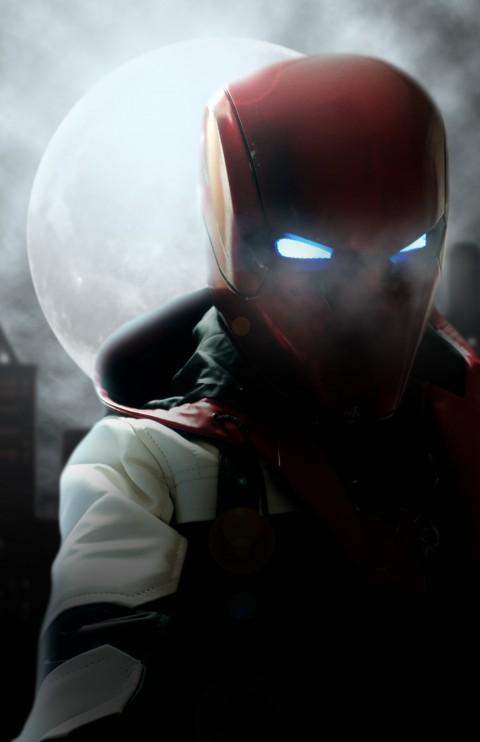 Knight Hood, Gotham knights game wallpaper, Gotham City, Dark City