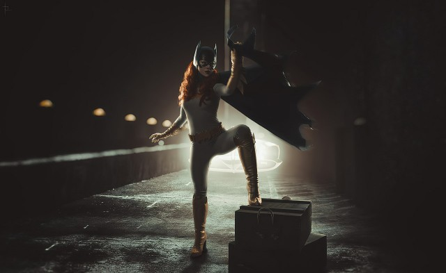 Batgir, superheroes, cosplay, artist, Gotham knights game wallpaper, Gotham City, Girls