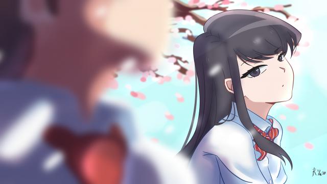 Anime, Komi Can't Communicate,Komi san  Komi Shouko, HD Desktop wallpaper