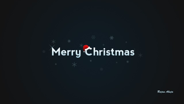 Merry Christmas Wallpaper, Santa Claus Hat, Christmas Background