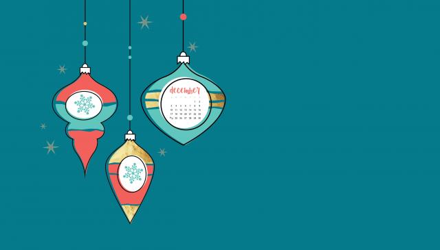 Simple Merry Christmas Wallpaper, Christmas Light Background, Christmas Calendar