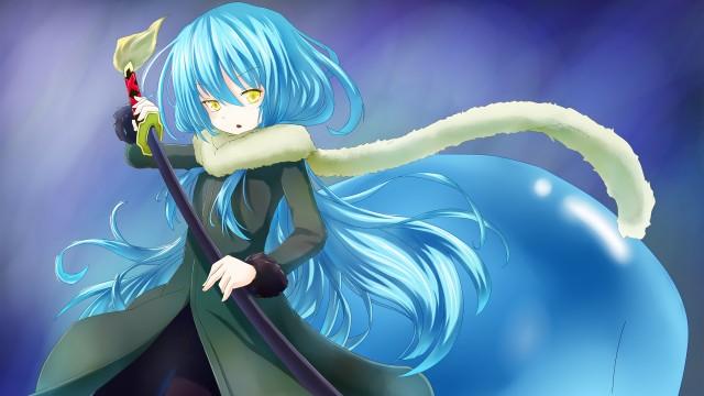 Rimuru Tempest, That Time I Got Reincarnated as a Slime, Anime, 4K, Wallpaper