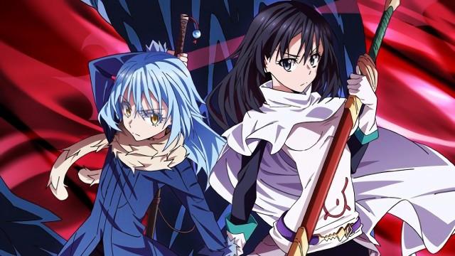 Shizue Izawa, Rimuru Tempest, Tensei Shitara Slime Datta Ken, Anime, 4K, wallpaper