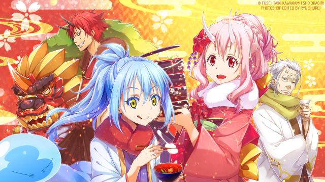 Shuna, Shion, Tensei Shitara Slime Datta Ken, Anime, Characters, Benimaru, Hakurou, wallpaper