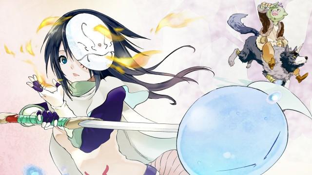 Shizue Izawa, Rimuru Tempest, That Time I Got Reincarnated as a Slime, Gobuta, Ranga, 4K