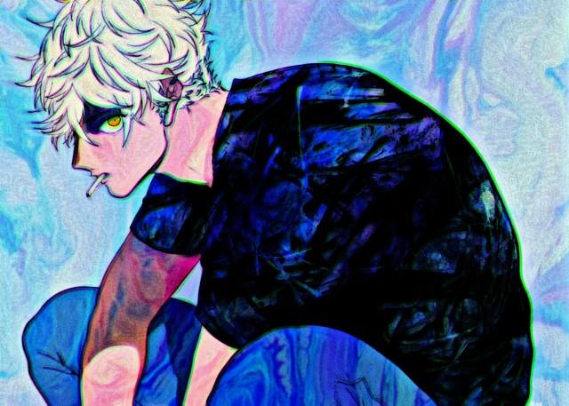 Yatora Yaguchi, Blue period HD Wallpaper, Art, Digital Art, ブルーピリオド